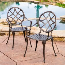 #1 Annawamscutt Dining Arm Chair (Set of 2)