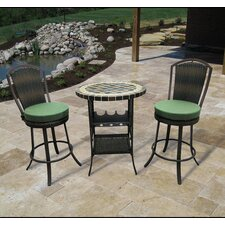 Stoneham 3 Piece Bar Set