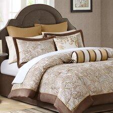 Pokanoket 12 Piece Reversible Comforter Set (Set of 12)