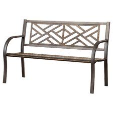 Wonderful Crestshire Metal Garden Bench