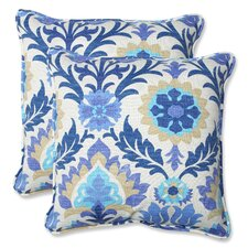 2017 Coupon Rockhill Indoor/Outdoor Throw Pillow (Set of 2)