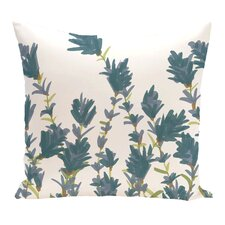 Modern Orchard Lane Lavender Floral Outdoor Throw Pillow