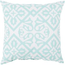 Modern Haysville Modern Moroccan Outdoor Throw Pillow