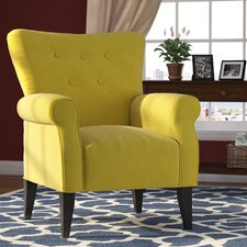 Delia Button Back Arm Chair