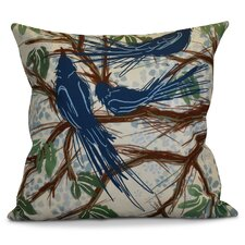 Miller Floral Outdoor Throw Pillow