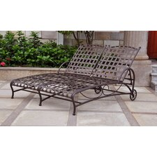 Great price Schilling Double Patio Chaise Lounge