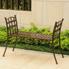 Schilling Outdoor/Indoor Iron Vanity Bench