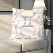 Haysville Smooth Lined Intersection Outdoor Throw Pillow