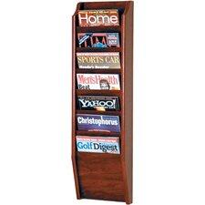 Olsson 7 Pocket Wall Mount Magazine Rack