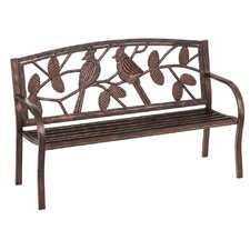 Great price Ericsson Cardinals Metal Garden Bench