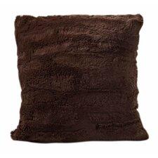 Carraton Faux Fur Throw Pillow