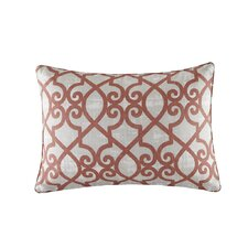 Barrows Printed Fretwork Outdoor Pillow