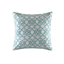 Barrows Printed Fretwork Outdoor Throw Pillow