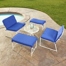 Purchase Tenafly 5 Piece Seating Group with Cushion
