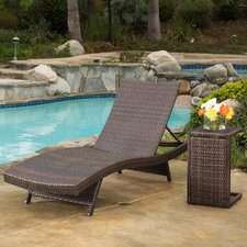 Choi 2 Piece Chaise Lounge Set
