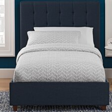 Severino Upholstered Platform Bed  Varick Gallery®