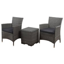 Bellfield 3 Piece Deep Seating Group with Cushion