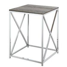 Carrollton Chrome End Table