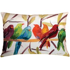 Today Only Sale Osborne Birds Indoor/Outdoor Throw Pillow