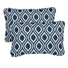 Haislip Corded Indoor/Outdoor Lumbar Pillow (Set of 2)