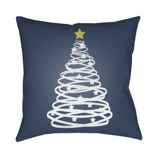 Montagna Winter Tree Indoor/Outdoor Throw Pillow