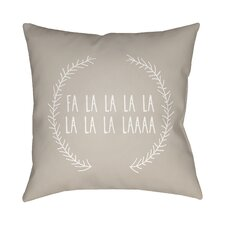 Marrone Indoor/Outdoor Throw Pillow