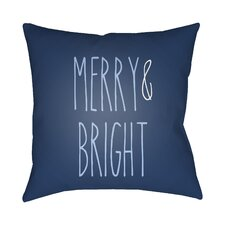 Comparison Merry & Bright Indoor/Outdoor Throw Pillow