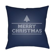 Merry Christmas III Indoor/Outdoor Throw Pillow