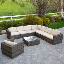 #2 Kloss 9 Piece Deep Seating Group with Cushion