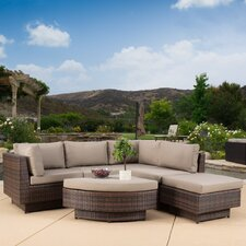 Cournoyer 4 Piece Deep Seating Group with Cushions