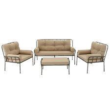 Today Only Sale Clingman Stunning 4 Piece Deep Seating Group