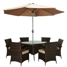 Savarese 8 Piece Dining Set