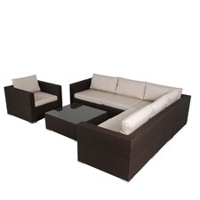 Murillo 7 Piece Sectional Sectional Seating Group