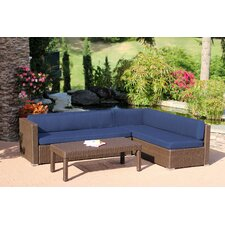 Doerr 3 Piece Deep Seating Group with Cushion