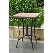 Katzer Wicker Resin/Aluminum Patio Table