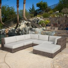 Toohey 6 Piece Deep Seating Group with Cushions