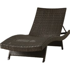Caddell Adjustable Chaise Lounge with Arms