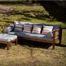 Gallien Outdoor Sofa with Cushion