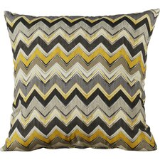 Drumheller Chevron Indoor/Outdoor Floor Pillow