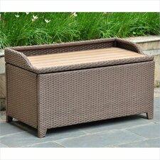 Katzer Brescia & Aluminum Resin Storage Bench