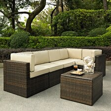 Crosson 6 Piece Deep Seating Group with Cushion