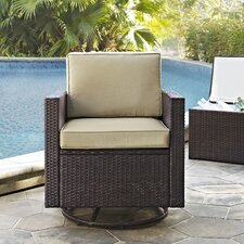 Crosson Swivel Chair with Cushions