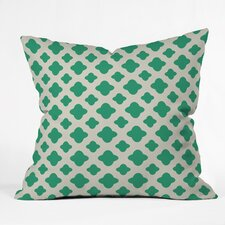 Estep Classic Emerald Indoor/outdoor Throw Pillow