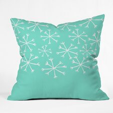 Gilcrease Snowing Indoor/Outdoor Throw Pillow