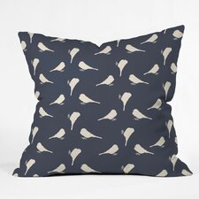 Giguere Little Birdies Outdoor Throw Pillow