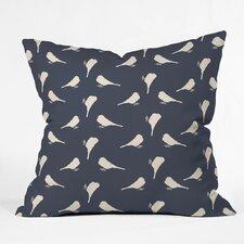 Giguere Little Birdies Outdoor Throw Pillow