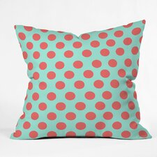 Mouton Adorable Dots Outdoor Throw Pillow