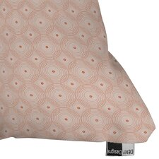 Gaiser Rosy Spirals Outdoor Throw Pillow