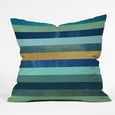 Ocean Deep Outdoor Throw Pillow