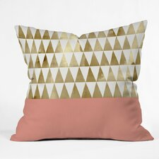 Candelario Triangles Outdoor Throw Pillow